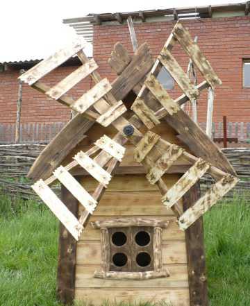 Мельница декоративная для сада