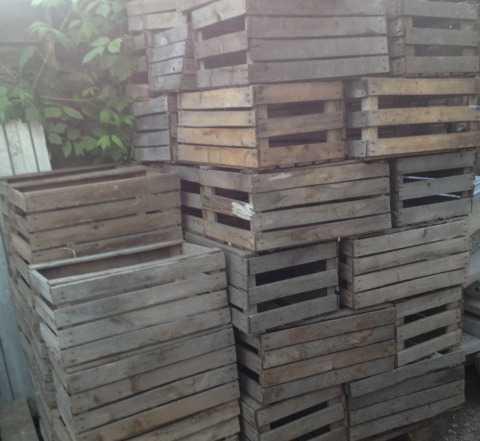 Деревянные ящики Б. У