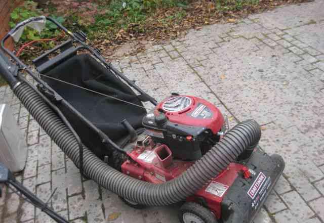 Садовый пылесос - измельчитель