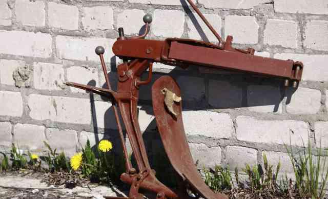 Плуг навесной для мини-трактора