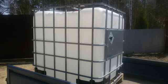 Продам пластиковую емкость V 1000 м3