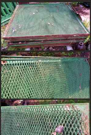 Набор забор, столбы, ворота и калитка (20м)