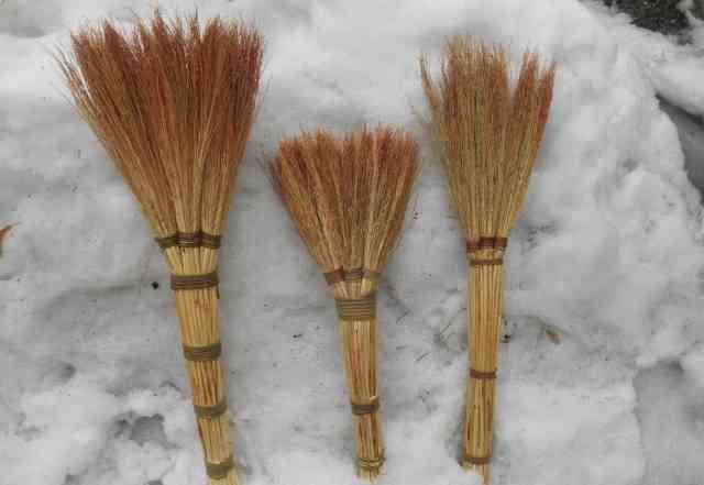 Веники хозяйственные ручной вязки, оптом от 100 шт