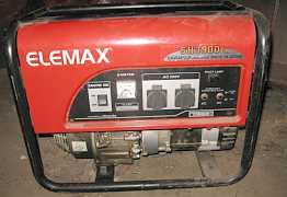 Бензогенератор elemax sawafuji sh 3900 ех
