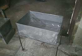 Изготовление мангалов и коптилок из металла 3 мм
