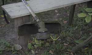 Триммер бензиновый бу (газонокосилка)