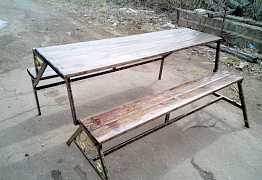 Продаю скамейку трансформер для дачи. бани, дома