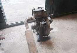 Двухтактный одноцилиндровый двигатель