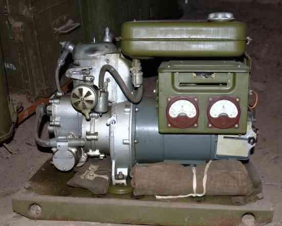 Генератор аб-1-П/30, двигатель 2сдв