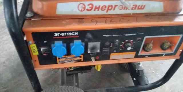 Сварочный бензогенератор эг-8719сн