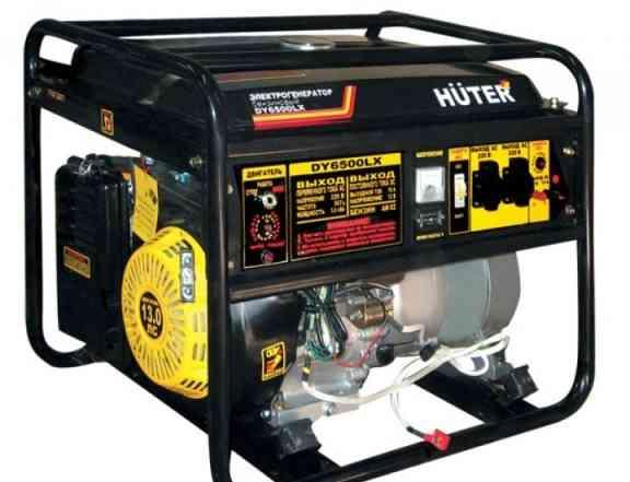 Продаю Б/У электрогенератор huter DY6500LX