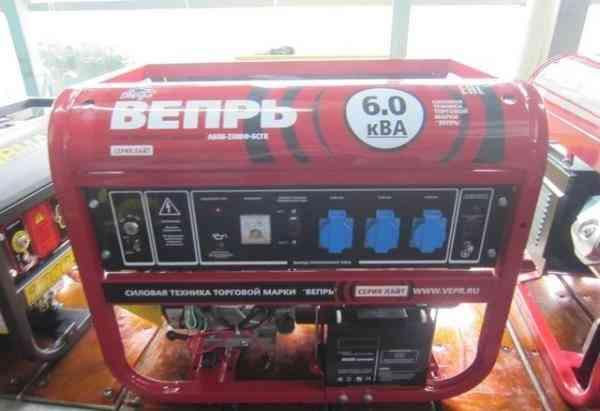 Генератор бензиновый 6.6 кВа