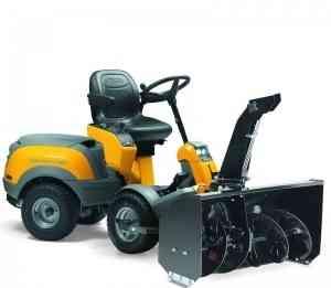 Садовый райдер Stiga Парк Pro 25 4WD + роторный