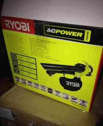 Новая электрическая воздуходувка Ryobi RBV3000cesv