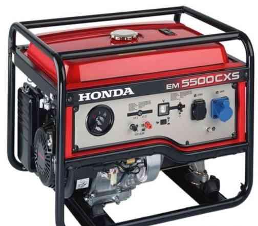 Продаю электрогенератор Honba 5.5 кВт