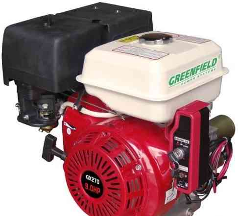 Бензиновый двигатель Green Field GF 177 FE (GX270)