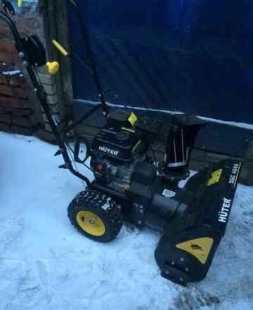 Снегоуборщик huter новый