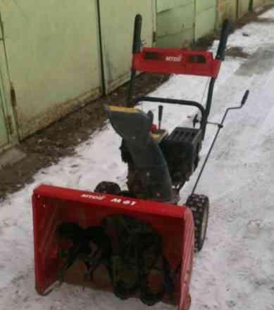Бензиновый снегоуборщик MTD M61 2012 г/в