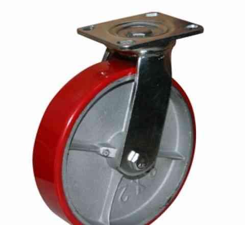 Колеса большегрузные (полиуретан) поворотное