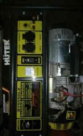 Бензиновый, газовый, генератор huter DY6500L. даро