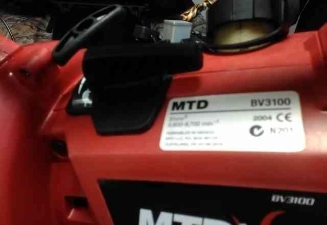 MTD садовый пылесос воздуходув
