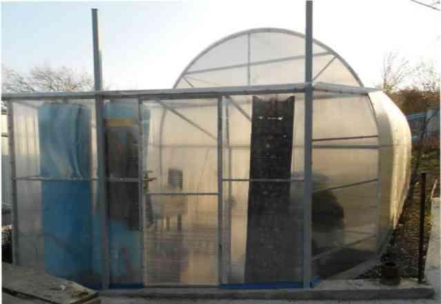 Кремлевская Люкс теплица для сада со скидкой