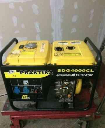 Дизельный генератор praktika SDG4000 CL