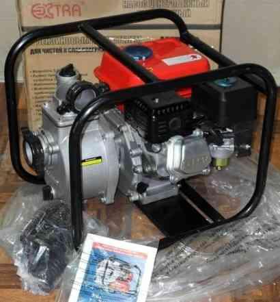Мотопомпа 4х тактным двигатель 5.5 л. с новая