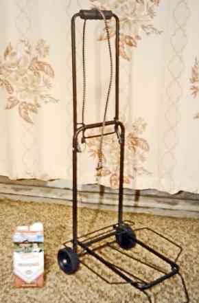 Тележка хозяйственная компактная, г/п 18 кг. сталь