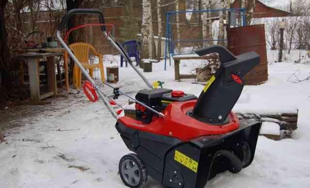 Cнегоуборщик бензиновый AL-KO snowline 55 E