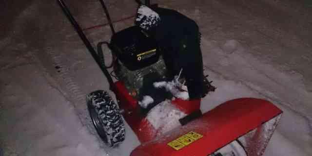 Снегоуборщик DDE
