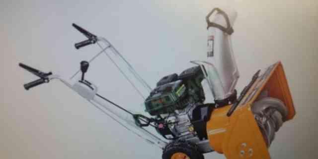Новый бензиновый снегоуборщик Snow Fox