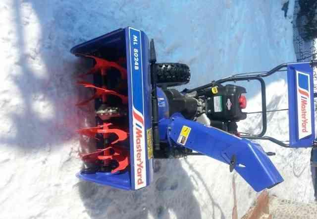 Бензиновый снегоуборщик MasterYard ML 8024B