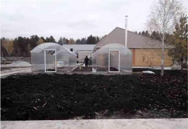 Теплица для сада и огорода Дачная-Двушка