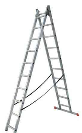 Лестница-стремянка двухсекционная Vinco
