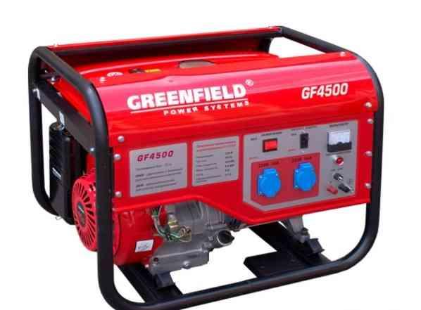 Бензиновый генератор GreenField GF4500E 3.5 Квт