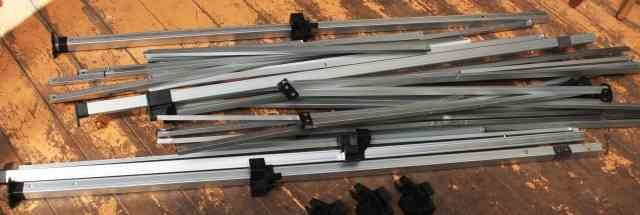 Аллюминиевые детали от раскладного тента 3.5 м