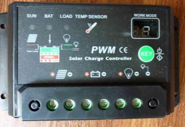 Контроллер для солнечных батарей на 10А
