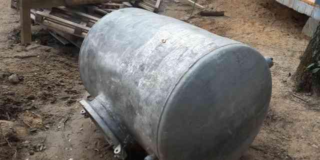 Алюминиевая Бочка 2000л. для питьевой воды