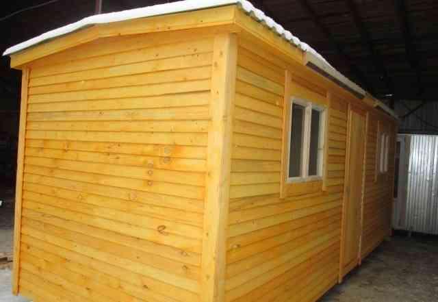 Садовый домик-бытовка в наличии 600х2.35
