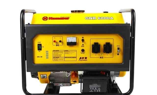 Бензиновый генератор hammer GNR6000 А 6 кВт