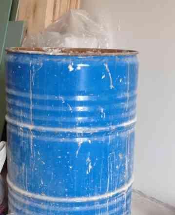 Бочка для отходов на стройку
