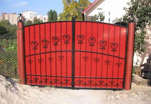 Заборы, ворота, двери от частника