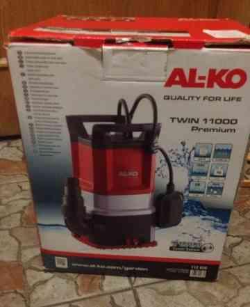Погружной насос для грязной воды AL-KO твин 11000
