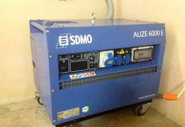 Генераторная портативная установка sdmo Alize 6000