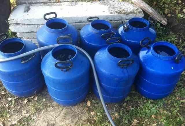 Продам бочки пластиковые 50 литров