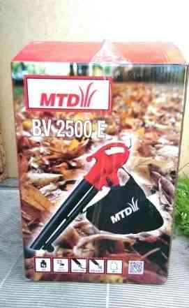 Садовый пылесос-воздуходувка электрическая MTD BV2