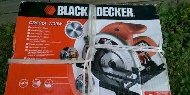 Циркулярная пила Блэк Decker CD601A 1100W