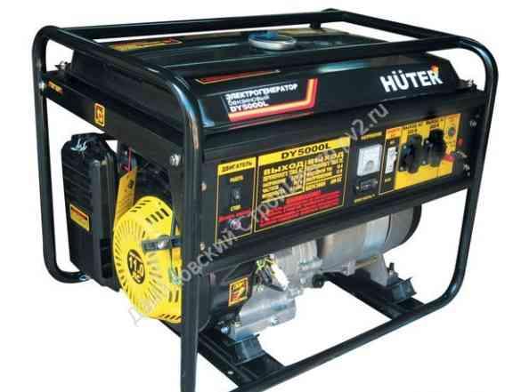 Бензогенератор DY huter 5000L 4.0кВт., 22л. /бак