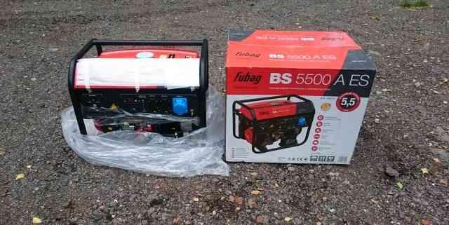 Бензиновый электрогенератор Fubag BS 5500 A ES